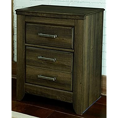 Signature Design by Ashley B251-92 Juararo Collection Nightstand, Dark Brown