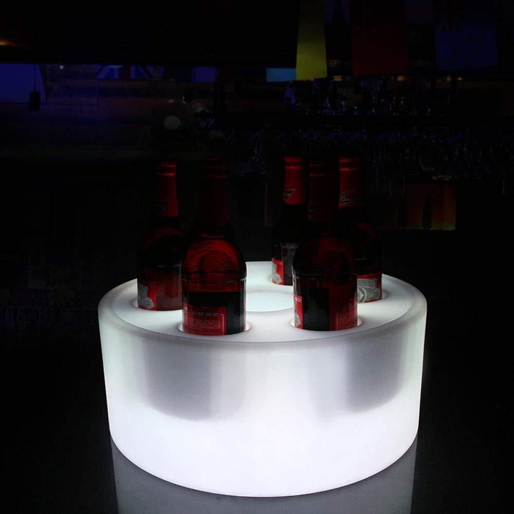Compra Cubeta de hielo Enfriador de cerveza LED Cubo De Hielo ...