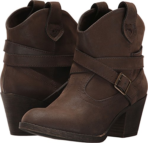 Cowboy Booties - Rocket Dog Women's Sanddoon Western Boot, Brown, 8 Medium US