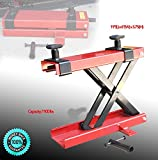 SKEMiDEX---New Mini Scissor Lift Jack 1100LB ATV Motorcycle Dirt Bike Scooter Crank Stand. This scissor lift is great for motorcycles, ATV;s, dirt bikes and smaller similar vehicles