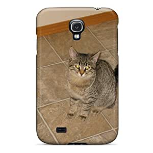 Snap-on Case Designed For Galaxy S4- Cat Our Max