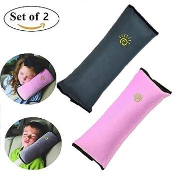 Seatbelt PillowCar Seat Belt Covers For KidsAdjust Vehicle Shoulder Pads Safety