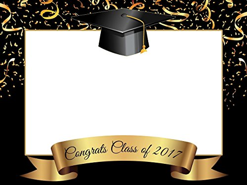 Custom Home Decor Graduation Photo Booth Frame Prop - Size 36x24, 48x36; Personalized College or University Degree Photo Frame, Class of 2018 - Handmade DIY Party Supply Photo Booth (Custom Photo Booth Props)