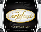 football cards hobby box - 2017 Certified Football Hobby Box (10 Packs of 5 Cards: 4 Autographs or Memorabilia, 10 Inserts)