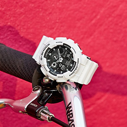 G-Shock GA-100 Military Series Watches - White / One Size by Casio (Image #2)