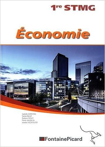 Lire un Economie 1ere STMG epub pdf