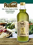 Paesano Extra Virgin Olive Oil Bottle 1 Liter (Pack of 3)