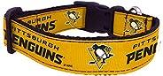 NHL Unisex NHL Pittsburgh Penguins Dog Collar