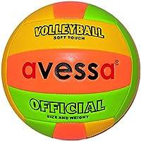 Avessa PVCY51 Avessa Fosforlu Voleybol Topu Unisex, çok renkli, Tek Beden