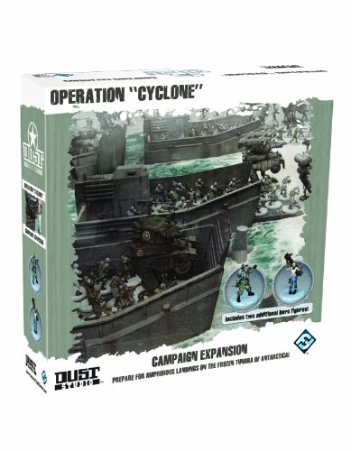 Dust Tactics: Operation Cyclone (Dust Game)
