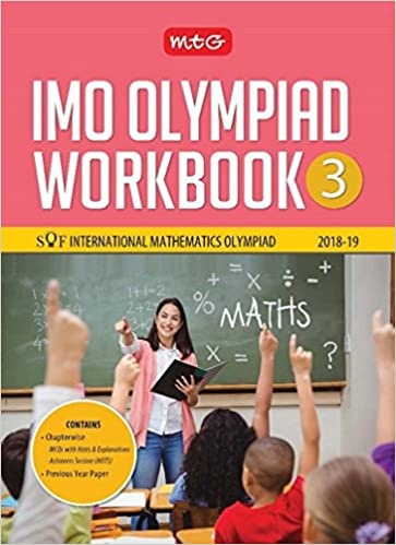 International Mathematics Olympiad Work Book (IMO) - Class 3 for 2018-19 - by Mahabir Singh