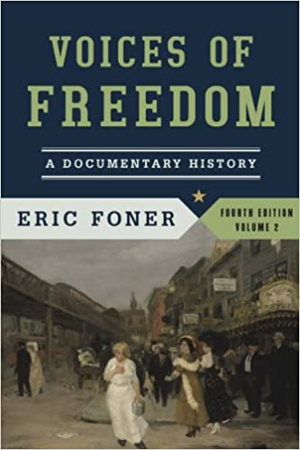 Voices Of Freedom A Documentary History Fourth Edition