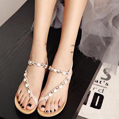 Beige Sandales Femme Femme Sandales Upxiang Sandales Pour Pour Upxiang Pour Upxiang Beige p6Fwq
