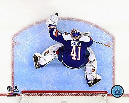 the best attitude a1d6b 278ed Amazon.com: Jaroslav Halak New York Islanders 2014-2015 NHL ...