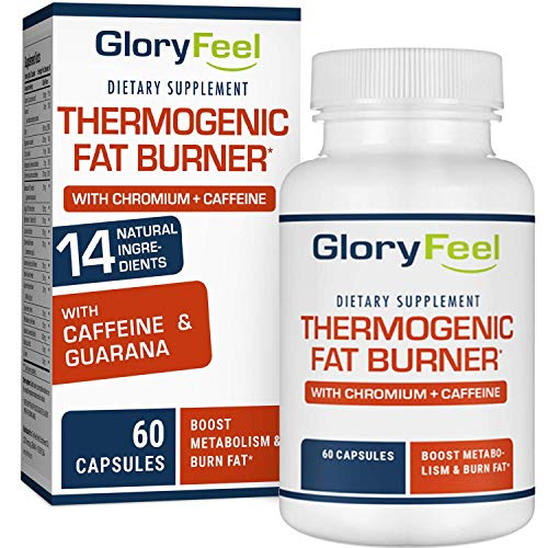 Gloryfeel Thermogenic Fat Burner – Weight Loss Supplement, Appetite Suppressant, Energy Booster – Weight Loss Pills…