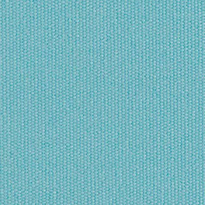 Sunbrella Twin Size Aquatic Aqua Aruba Blue Turquoise Canvas Fabric Zip On Mattress Cover for Outdoor Porch Bed Daybed Swing Water Resistant Fabric (Sunbrella Cover Mattress)