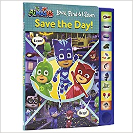 Pj Masks: Save the Day! (Look and Find): Amazon.es: Skwish ...