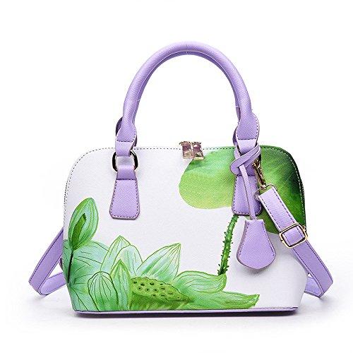 Kyokim Korean Version Of The Trend Of Spraying Shells Classic Portable Shoulder Messenger Bag Shoulder Bag Green
