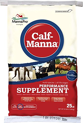 Manna Pro Calf-Manna Supplement, 25 lb