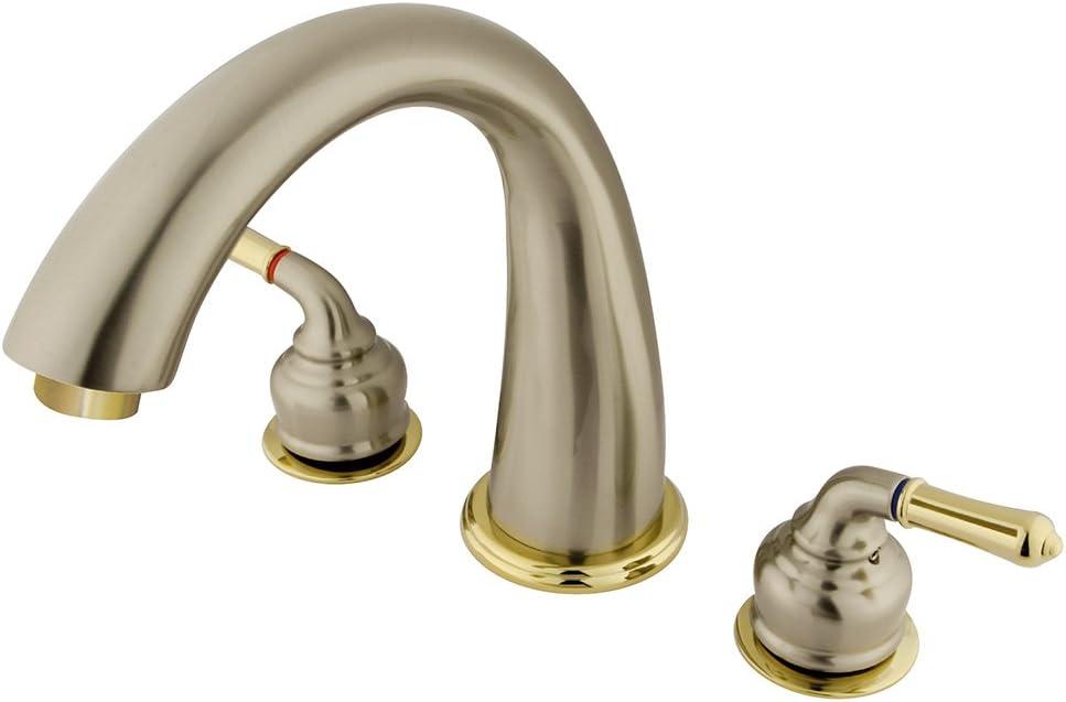 Polished Brass Kingston Brass KB282 Americana Roman Tub Filler