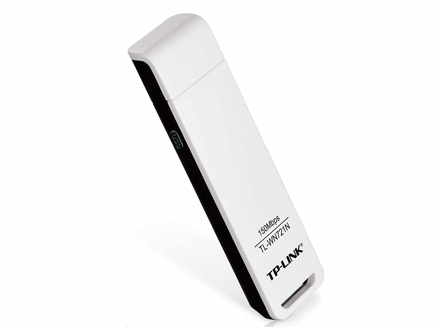 TP-Link TL-WN721N Wireless N150 USB Adapter, 150 Mbps with WPS