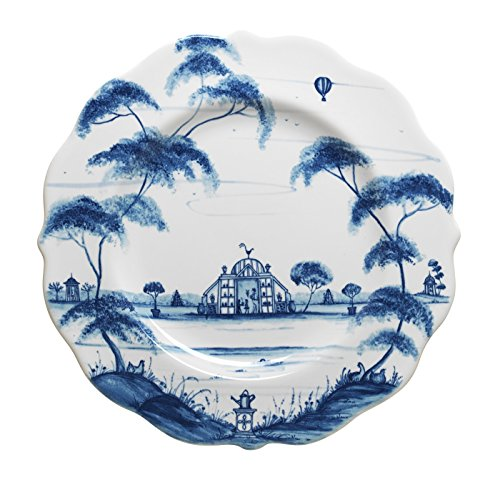 Country Blue Salad Plate - 3
