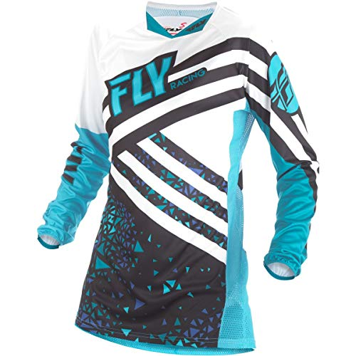 Fly Racing Men's Kinetic Jersey Blue/Black Youth -