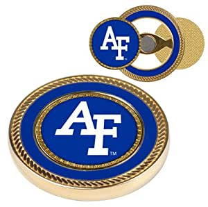 Amazon.com : Air Force Academy Falcons Gold Challenge Coin with Ball Markers (Set of 2) : Golf