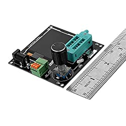 Nrthtri smt 9-12V DC Simple Transistor Tester Frequency Meter 160x128 PWM LCD Square Wave Generator LCR Table PNP NPN FET Diode Measurement Measuring