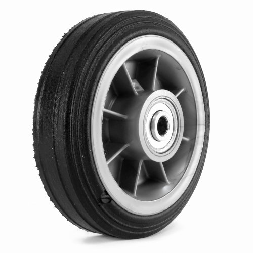 - Martin Wheel 6X2.00 6-Inch General Purpose Wheel for Lawn Mower, 1/2-Inch Ball Bearing by 2-1/2-Inch Centered Hub