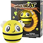 My Audio Pet Mini Bluetooth Animal Wireless Speaker with True Wireless Stereo Technology – Pair with Another TWS Pet for Powerful Rich Room-Filling Sound – (Bumble Beat)