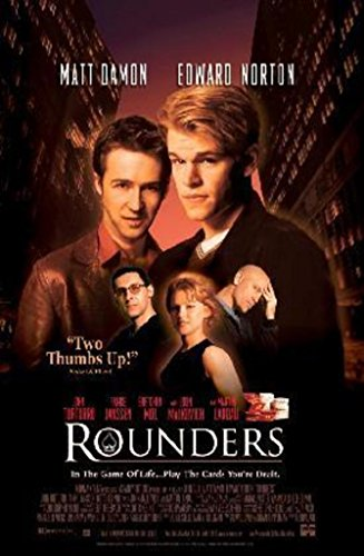 (Pyramid America Rounders Matt Damon Edward Norton Poker Movie Poster 24x36)
