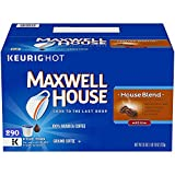 Maxwell House House Blend K-Cup Coffee Pods, 290 ct Box (290 ct)