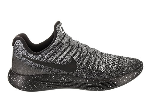 Blau Noir 2 Flyknit Nike De Schwarz Femmes noir Course Lunarepic Bleu Wei Low Sentier Chaussures W Sur course blanc ZxxOBqH