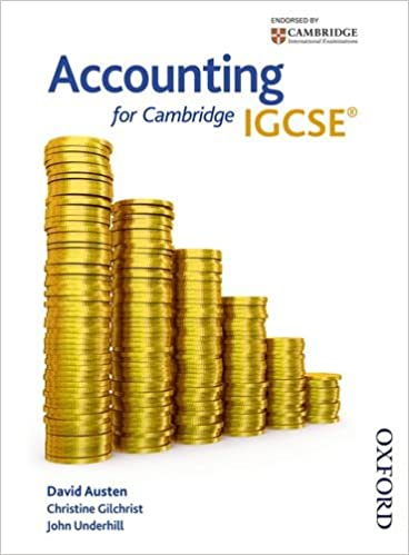 Accounting for Cambridge IGCSE First Edition: David Austen, John ...