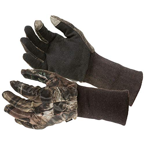 Allen Camo Mesh Hunting Gloves - Mossy Oak Beak-Up Country