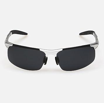KDIAN Gafas De Sol Polarizadas De Los Hombres De Aluminio-Magnesio Metal Marco Vidrios Adecuados para Deportes Al Aire Libre De Conducción Y Ciclismo ...