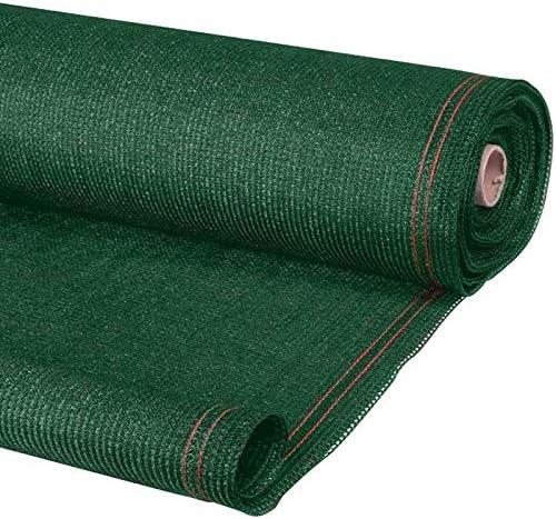 ProBache – Malla de ocultación de alta densidad de 300 g/m², en color verde, de 1,5 x 10 m; calidad profesional: Amazon.es: Jardín