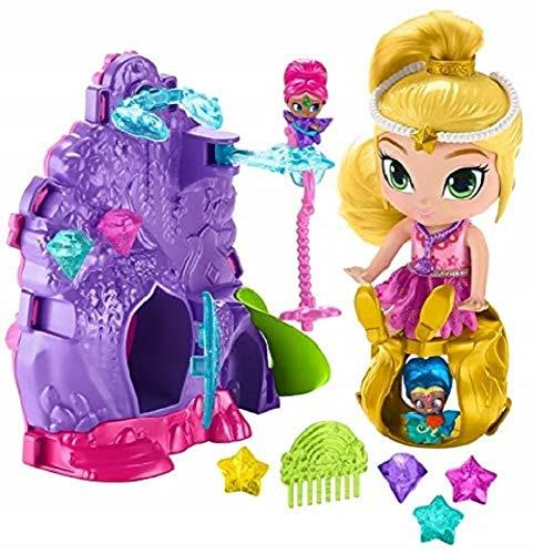 Fisher-Price GFB42 Nickelodeon Shimmer & Shine, Leah's Teenie Genies Vanity Playset, Multicolor, Pack of 1