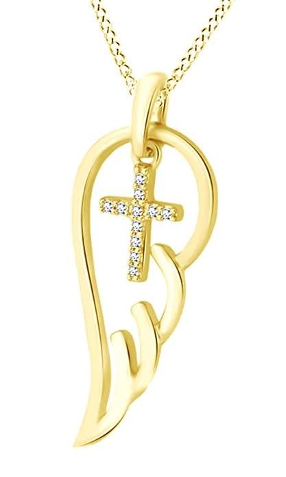 AFFY Plata de ley (925/1000) Plata chapada en oro rosa de 18 quilates redondo IJ diamante blanco  de cuero  Zapatillas Mujer  de cuero  Niño pO5PIK