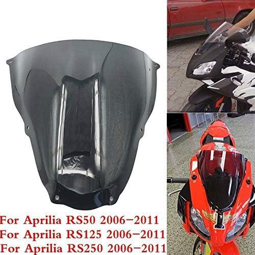 Motorrad-Windschutzscheibe Windschutz Windschutz f/ür Aprilia RS50 RS125 RS250 RS 50 125 250 2006 2007 2008 2009 2010 2011