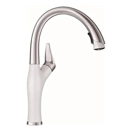 Blanco 442028 Kitchen Faucet With Pull Down Spray Artona 22 Gpm 22