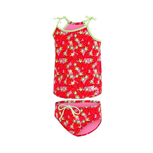Dolfin Toddler Uglies Tankini Swimsuit (Berry Cute, 2T)