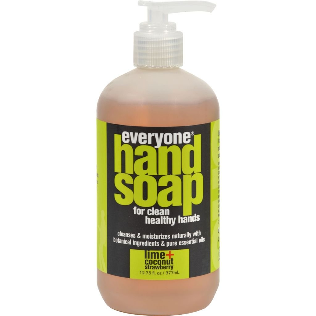 EO Products Everyone Hand Soap - Lime and Coconut with Strawberry - 12.75 oz - EO Products