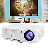 Home Theater Projectors 1080p 3600 Lumens, Home Cinema Video Projector With Two HDMI USB TV SD Card VGA AV Ports for Smartphones Blu-ray DVD Player Laptops PC Tablet Indoor Outdoor Backyard Movie Game