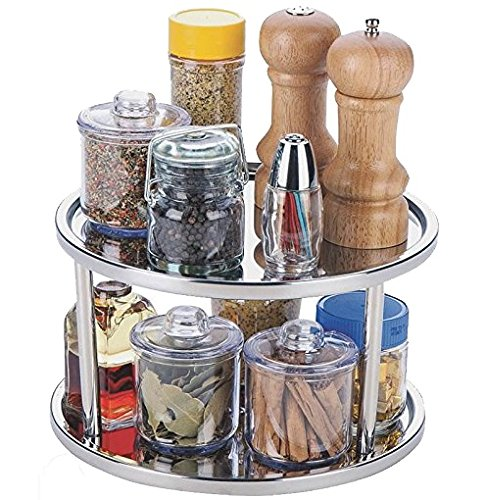 I was DIY'ing a kitchen cabinet organization project, and needed the best kitchen cabinet organizers I could find. I found a list of the best ones, including lazy susan's, ideas for organizing cookie sheets, pot lids, spice organization, and simple ideas for organizing your kitchen cabinets.