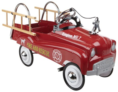 InStep Fire Truck Pedal Car product image
