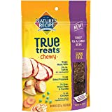 Nature's Recipe True Treats with Turkey, Pea & Carrot, Grain-Free, Natural, Chewy Dog Treats, 8 Ounce Pouch