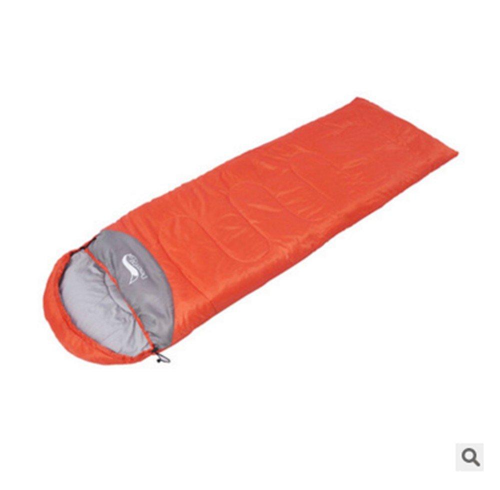 Sacos de dormir al aire libre la primavera y el otoño ligero acolchado viaje Camping bolsas de dormir bolsas de dormir almuerzo Break-Proof jugar ...