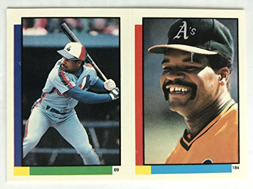 1990 Topps Stickers #69 Tim Raines NM/M (Near Mint/Mint) ()